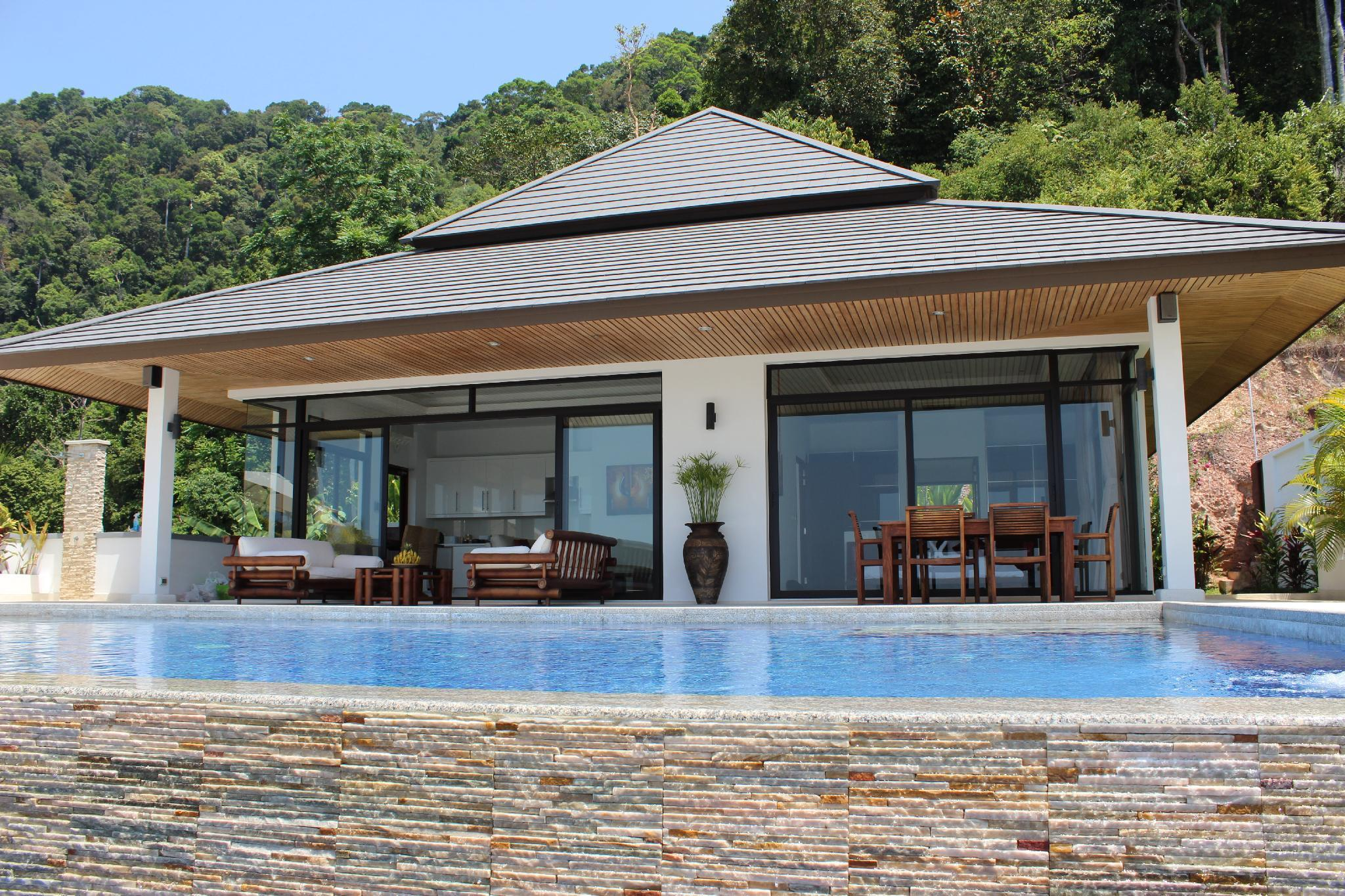 Kulraya Villas - Luxury Serviced Pool Villas วิลลา 2 ห้องนอน 2 ห้องน้ำส่วนตัว ขนาด 400 ตร.ม. – หาดพระแอะ