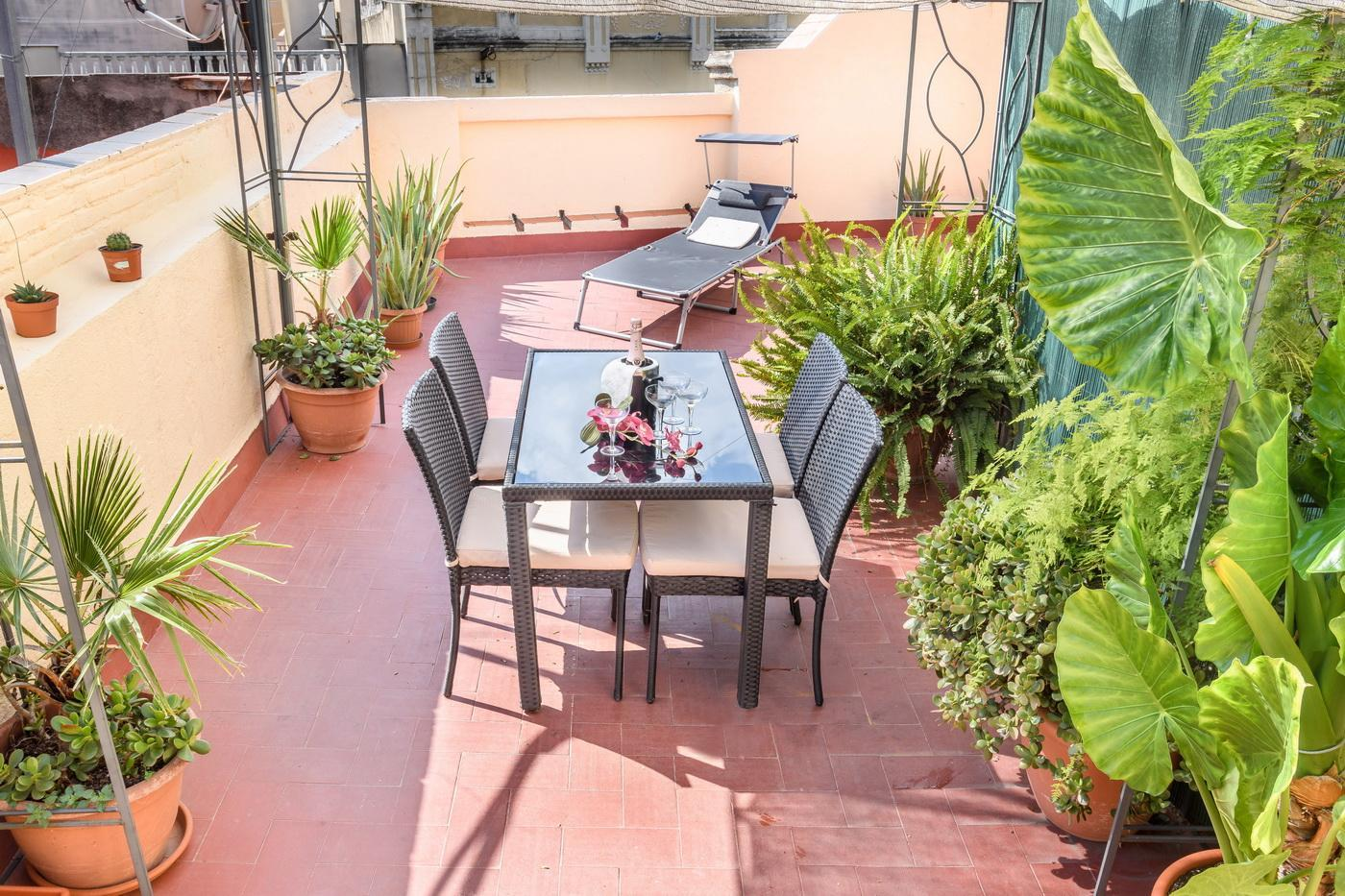 Sunny And Central Penthouse W Private Terrace