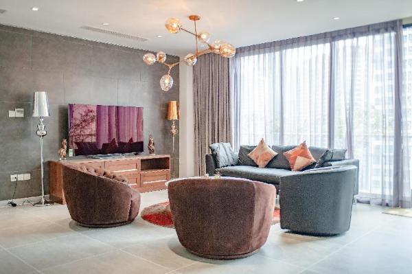 Micasa @Luxury Pent House @view Landmark 81  Ho Chi Minh City