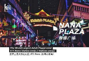 [スクンビット]アパートメント(29m2)| 1ベッドルーム/1バスルーム 【hiii】HighFL View★NearEM&Nana/Free Swim&Gym-BKK101