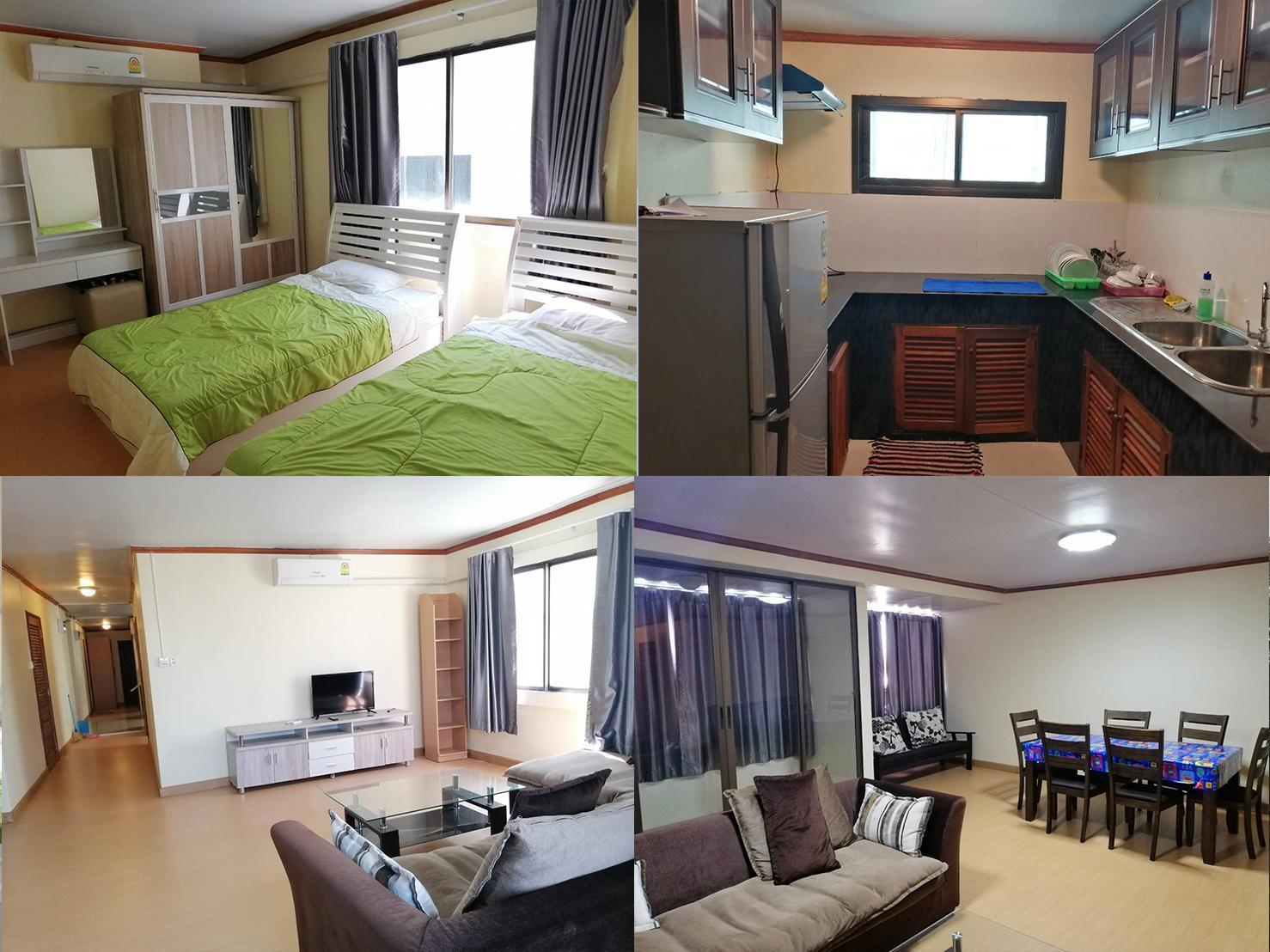 Hill Park Condominium 2 (Room 8C) อพาร์ตเมนต์ 1 ห้องนอน 1 ห้องน้ำส่วนตัว ขนาด 100 ตร.ม. – ห้วยแก้ว