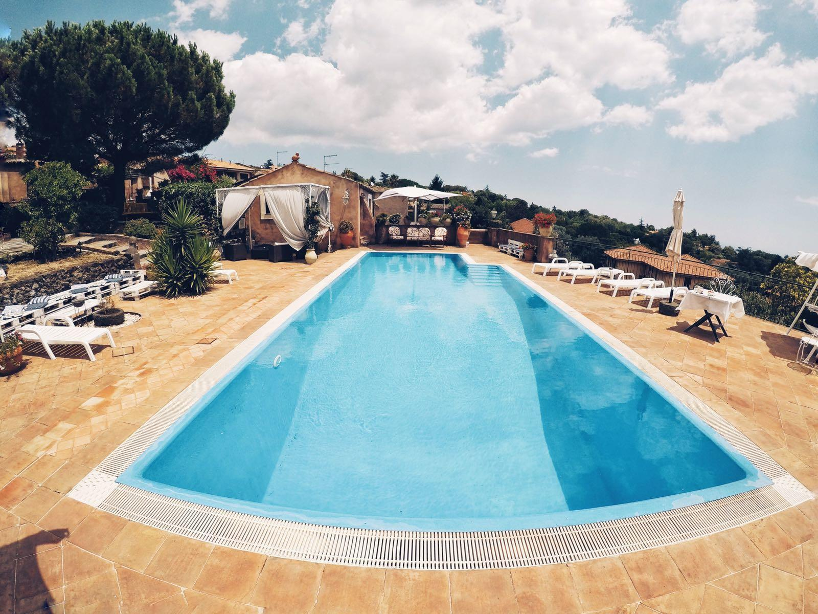 Panoramic Terrace With Swimming Pool