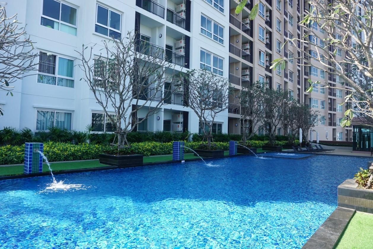 Exclusive Studio Chiang Mai Pool✔Sauna✔View #2 สตูดิโอ อพาร์ตเมนต์ 1 ห้องน้ำส่วนตัว ขนาด 32 ตร.ม. – นวรัตน์