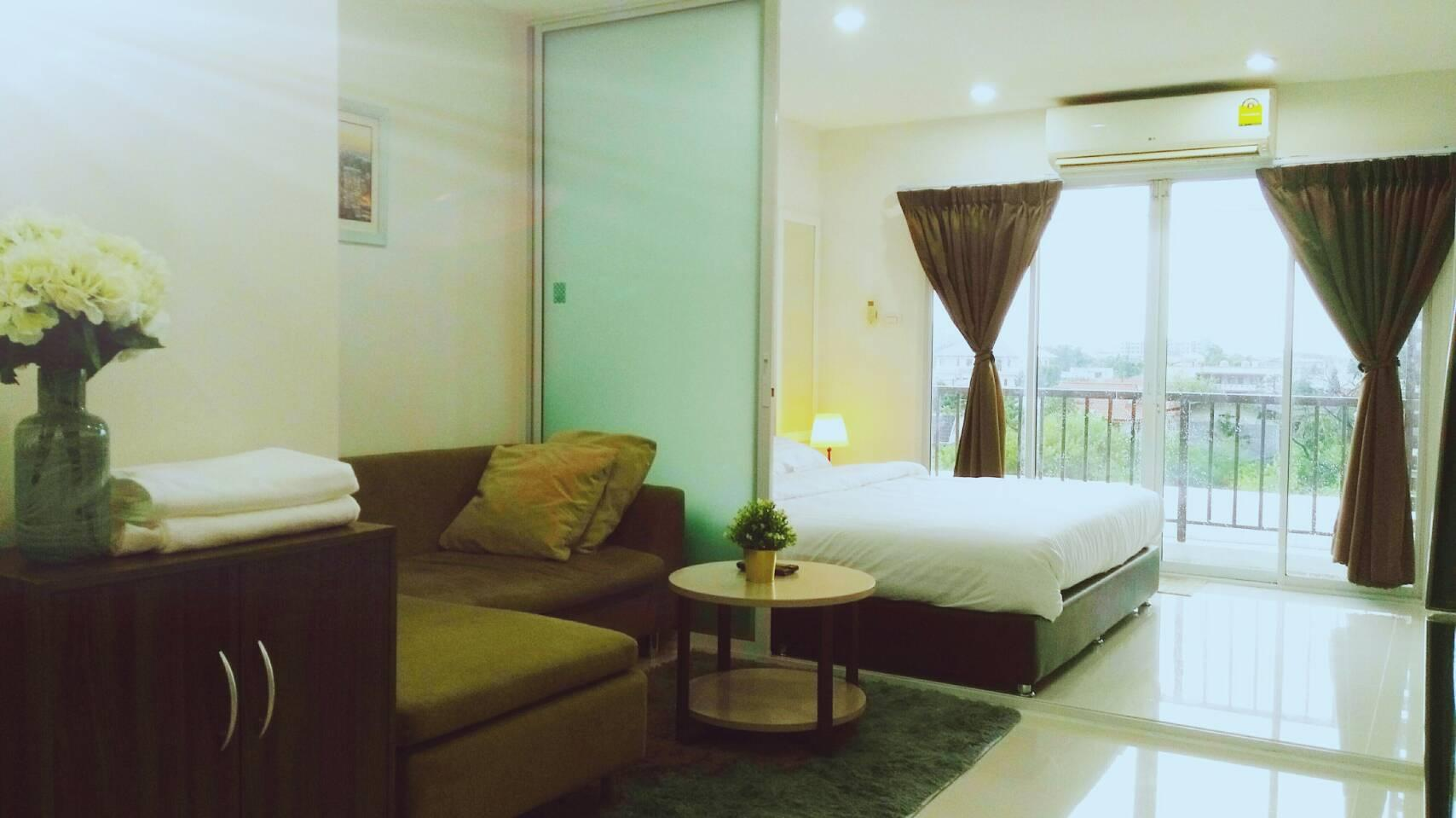 No.77 Large Studio Room And Swimming Pool@S101