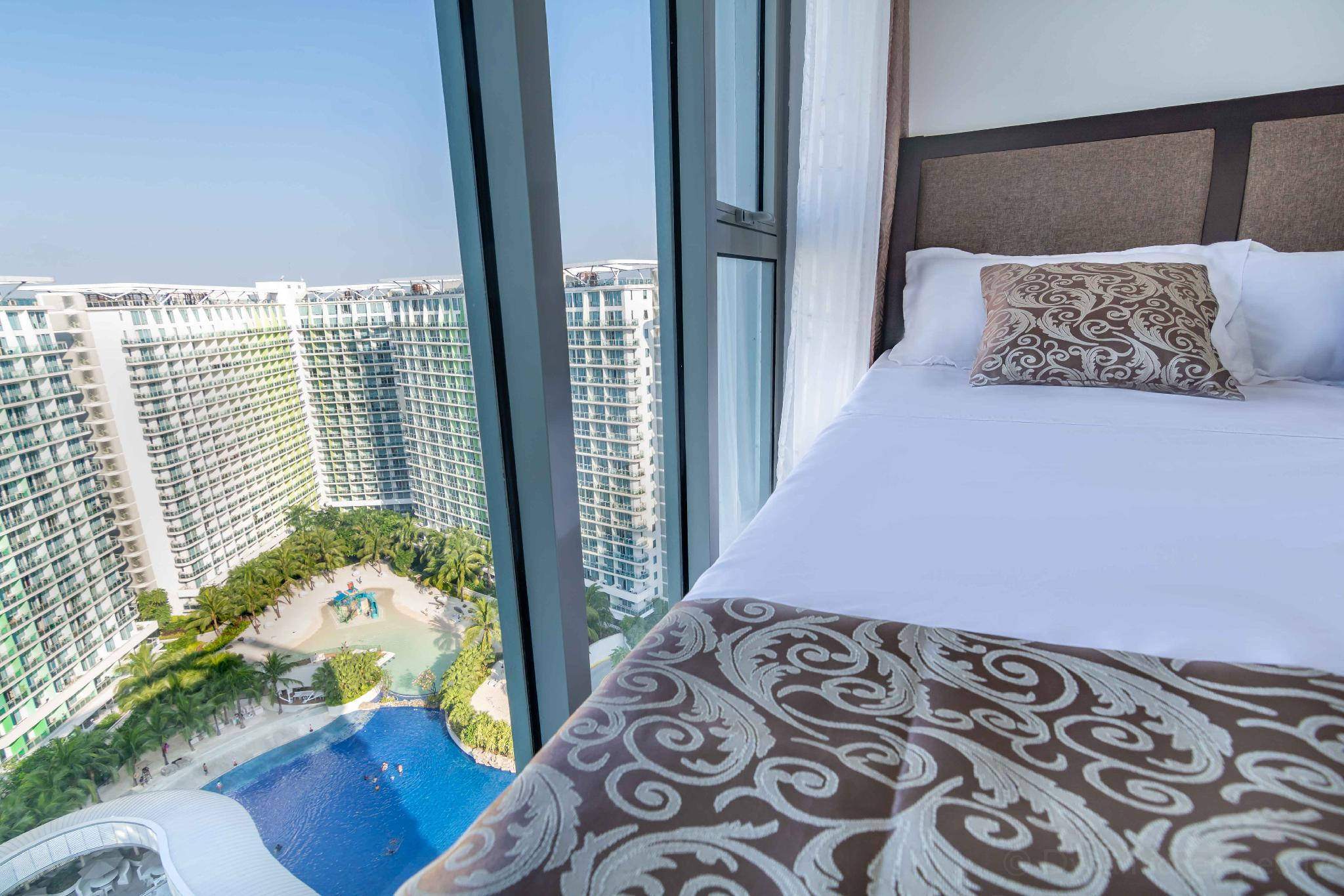 Beach View 2BR Penthouse In Azure Urban Resort