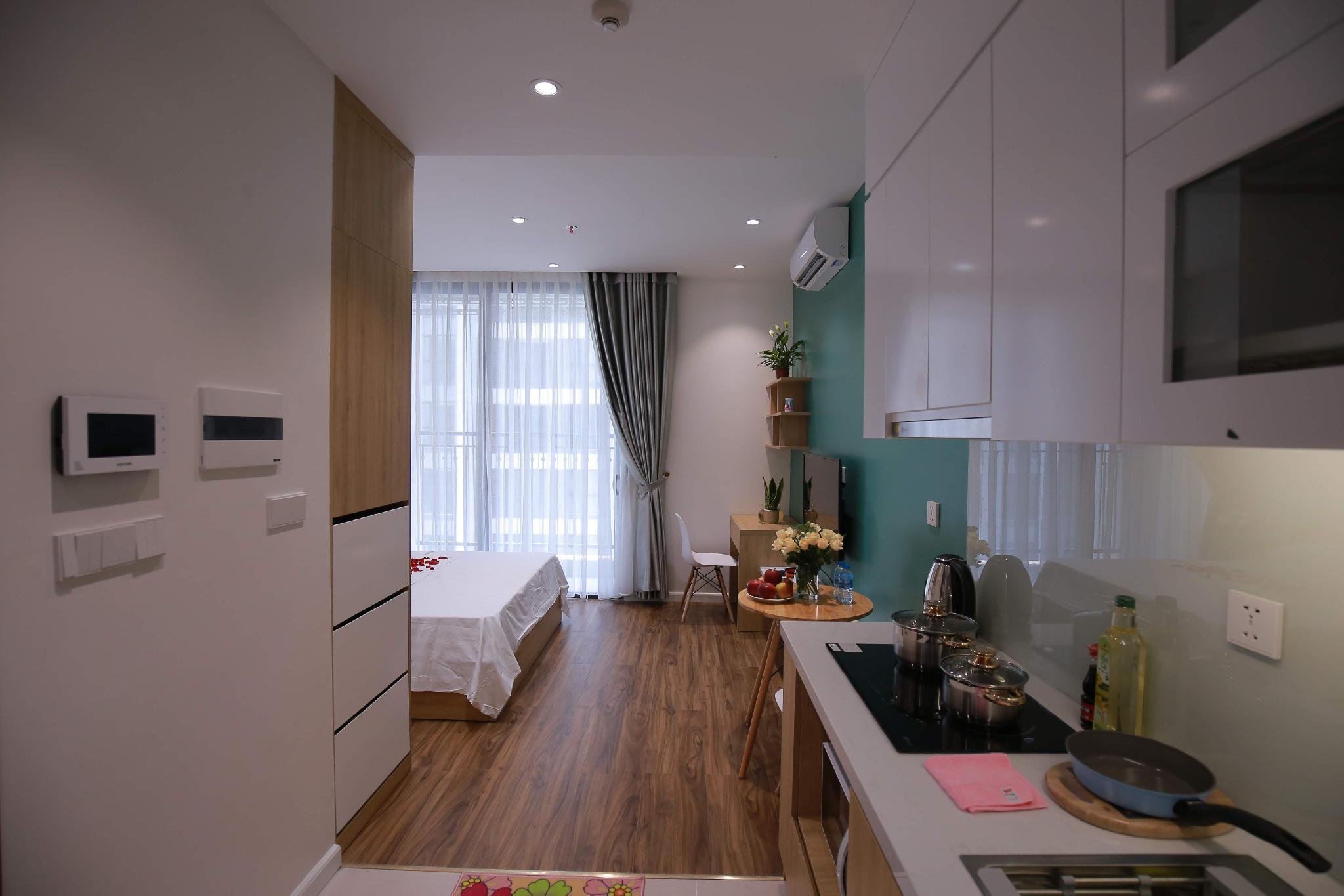 Vinhomes Green Bay   5  Studio Apartment   Rosy 28