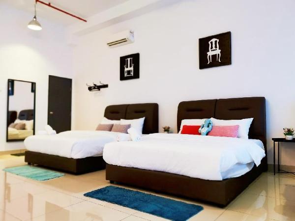 Austin 18 deluxe family suite @ UHA Home Johor Bahru