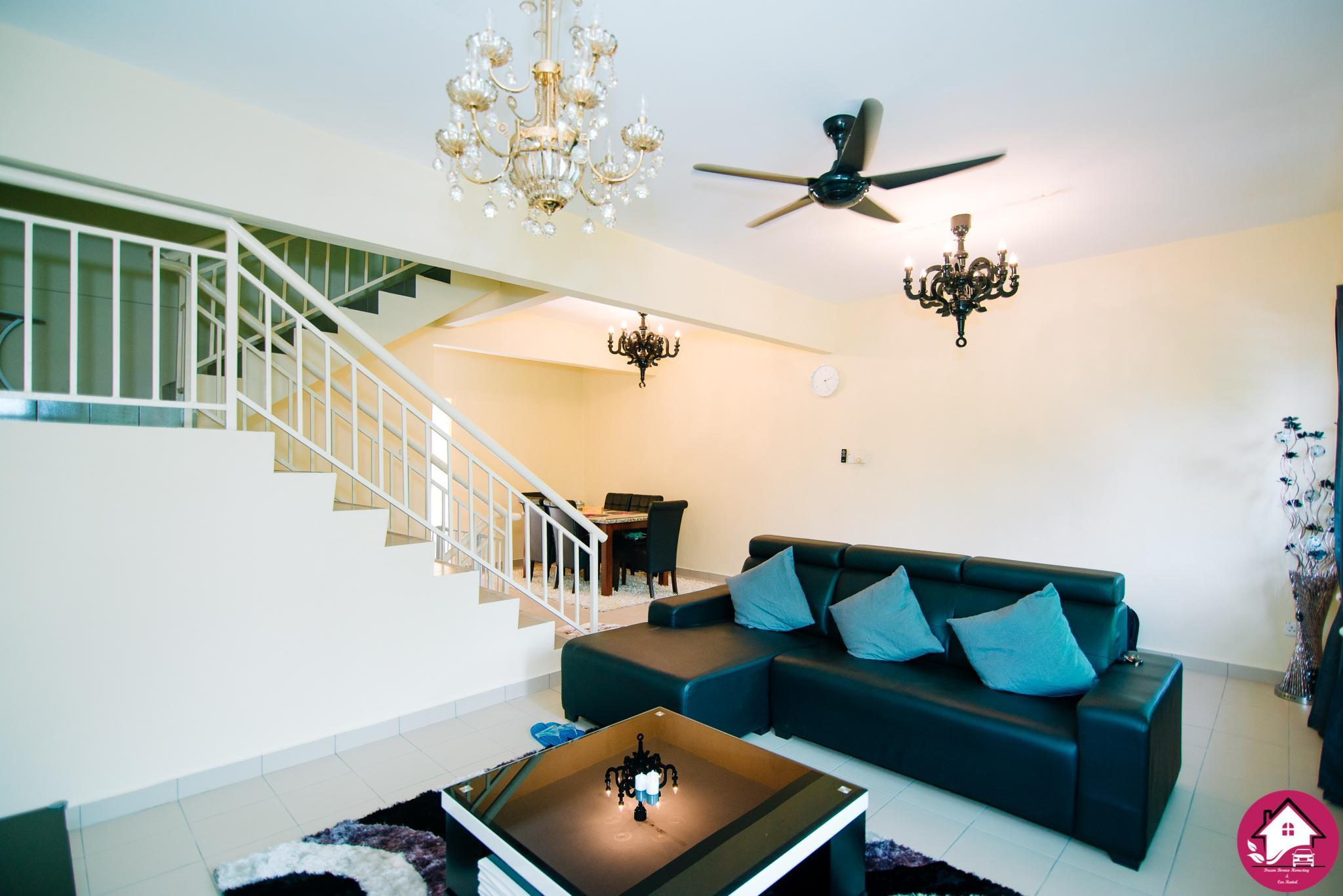 BIG Fully Furnish TownHouse 5mins To AirportandCity
