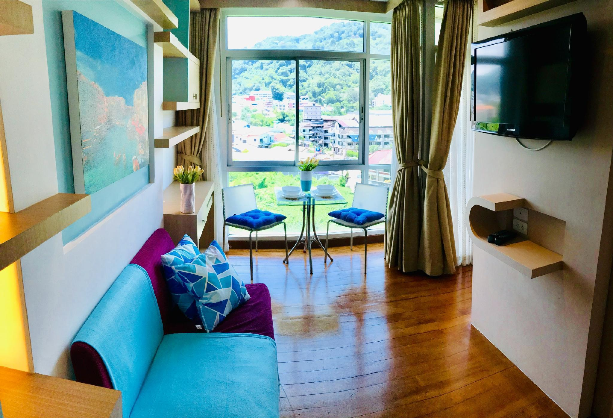 Light&Bright Apartment at Patong อพาร์ตเมนต์ 1 ห้องนอน 1 ห้องน้ำส่วนตัว ขนาด 30 ตร.ม. – ป่าตอง