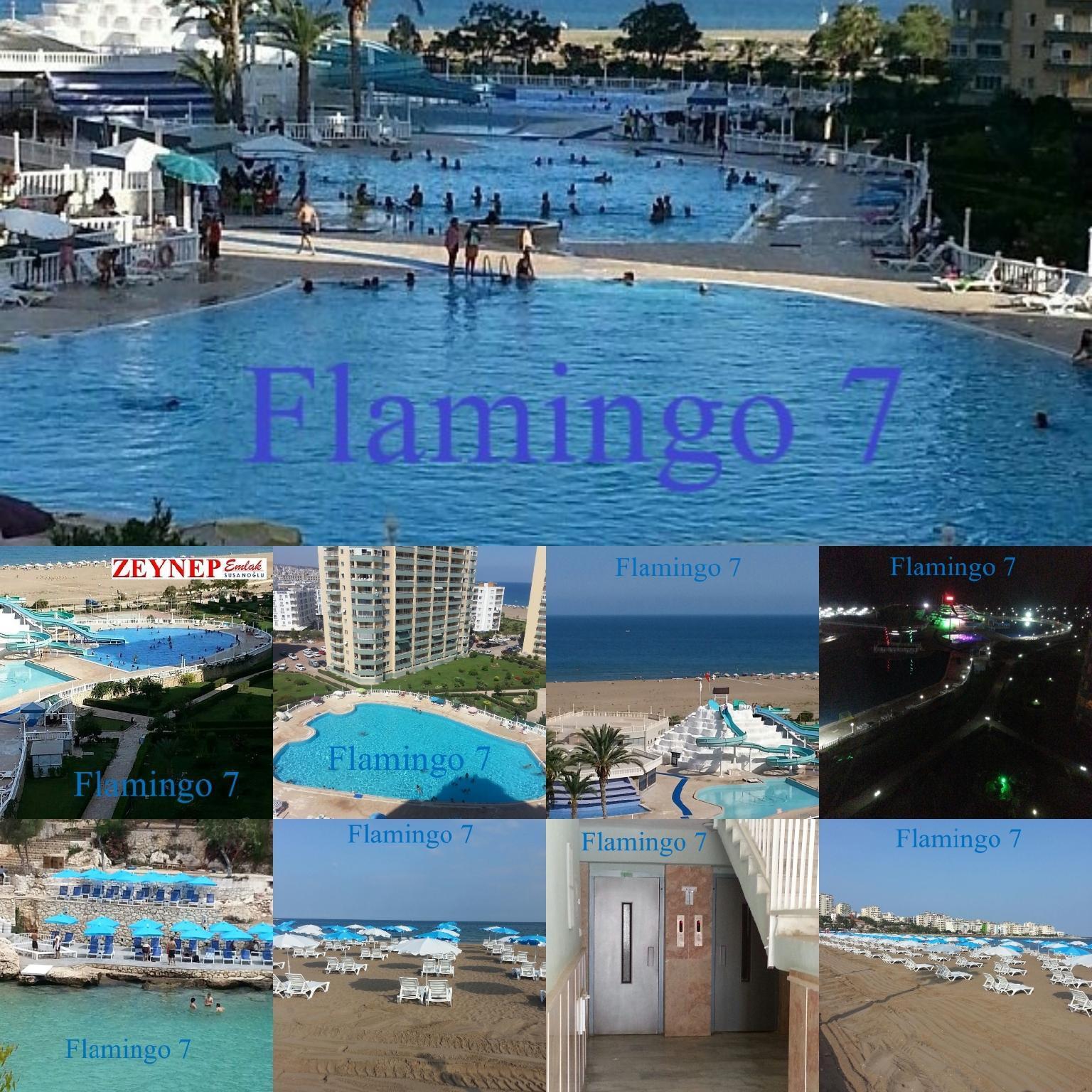 Denize Sifir Super Luks Tatil Sitesi Flamingo 7