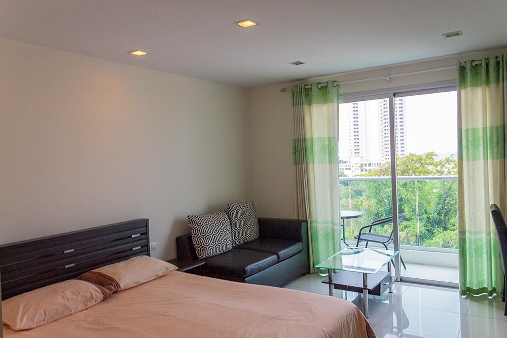 Studio with sea view in Laguna Bay 1 condominium สตูดิโอ อพาร์ตเมนต์ 1 ห้องน้ำส่วนตัว ขนาด 30 ตร.ม. – เขาพระตำหนัก