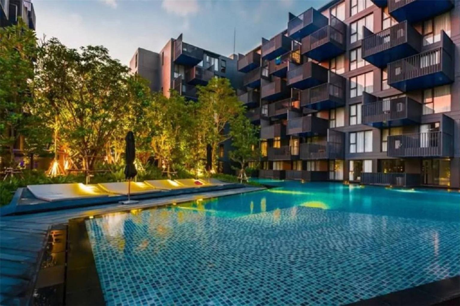 芭东海滩 豪华4星公寓  无边泳池  厨房  沙滩 Jungceylon 江西冷酒吧街  步行可达 อพาร์ตเมนต์ 1 ห้องนอน 1 ห้องน้ำส่วนตัว ขนาด 40 ตร.ม. – ป่าตอง