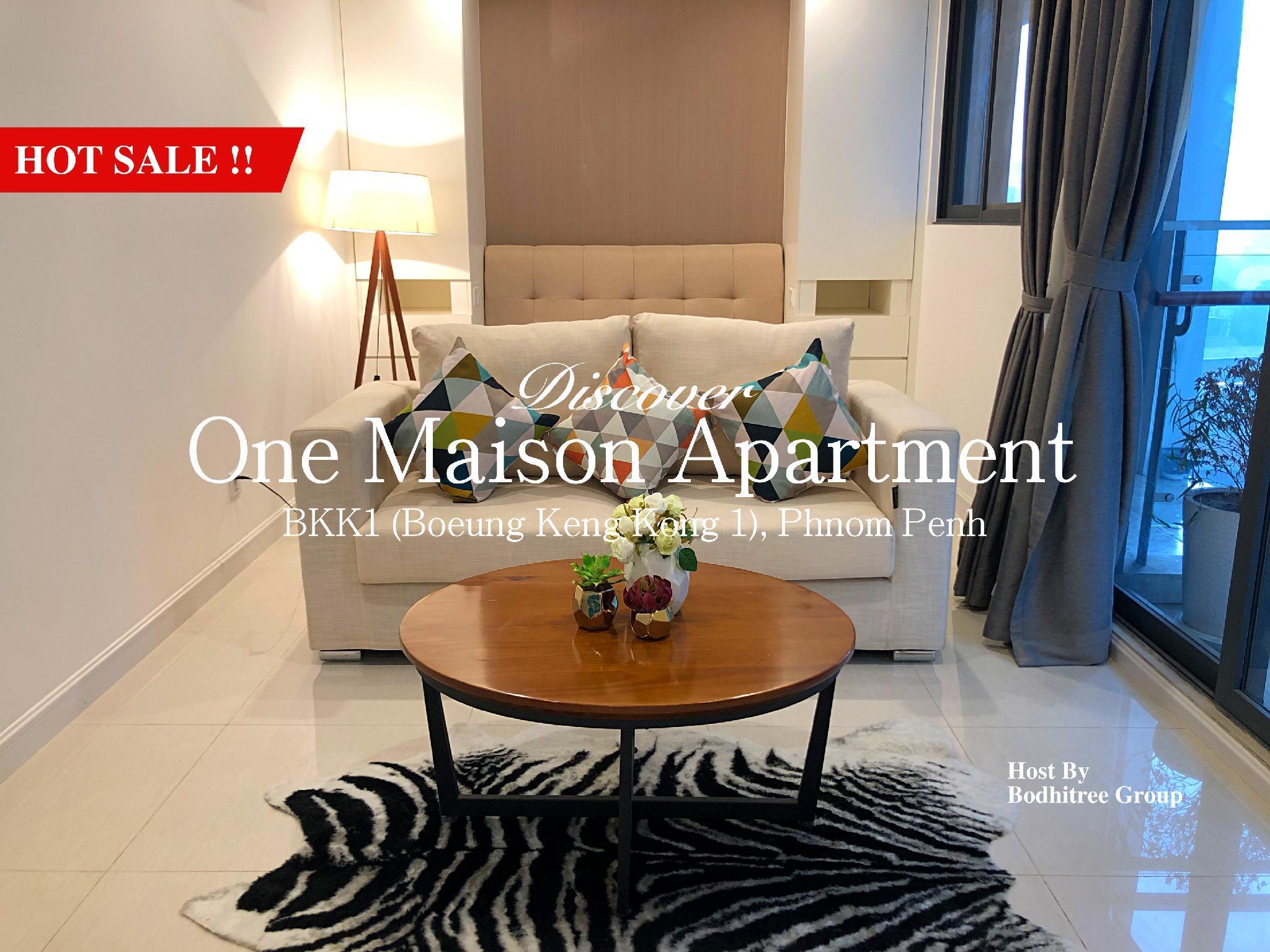 7C Studio Fine Apartment In BKK1 Downtown Of PP