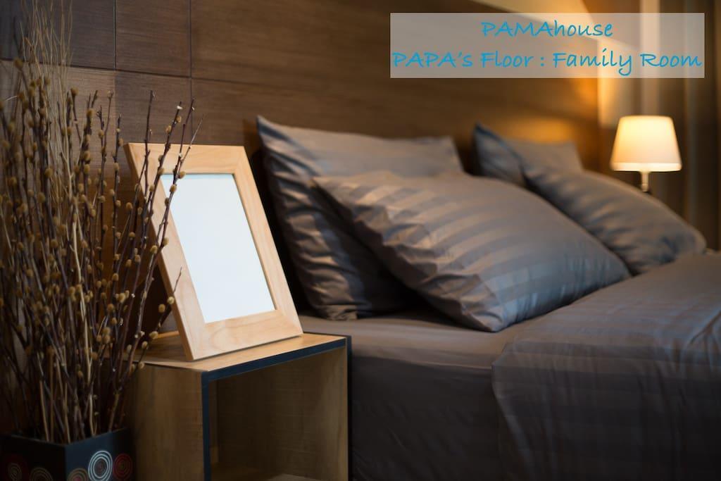 PAMAhouse : Family room (2 bedrooms, 1 bathroom) อพาร์ตเมนต์ 2 ห้องนอน 1 ห้องน้ำส่วนตัว ขนาด 50 ตร.ม. – ริมแม่น้ำกรุงเทพ