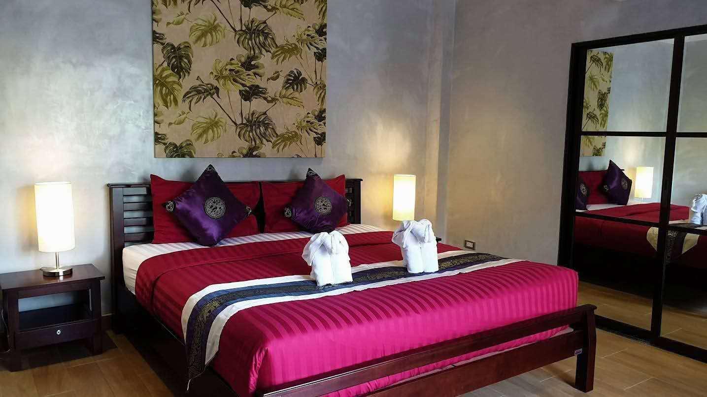 Beachfront 4 bedroom villa วิลลา 4 ห้องนอน 4 ห้องน้ำส่วนตัว ขนาด 300 ตร.ม. – หาดจอมเทียน