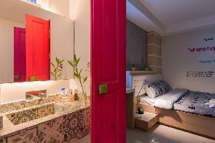 Private Room, No Window, Patong Beach สตูดิโอ อพาร์ตเมนต์ 1 ห้องน้ำส่วนตัว ขนาด 20 ตร.ม. – ป่าตอง