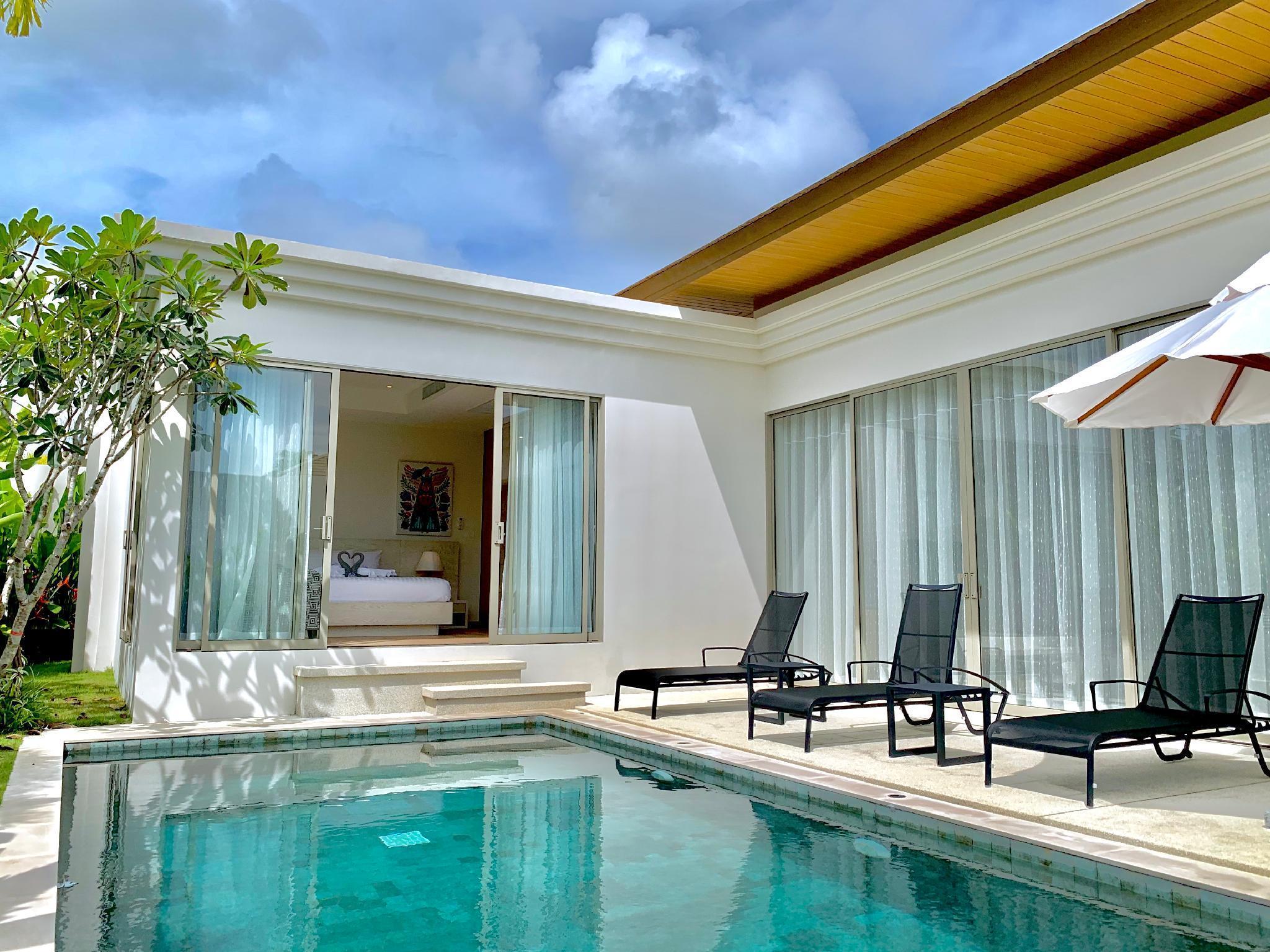 Phuket Trichada Tropical Luxury villa - TAE 8 วิลลา 3 ห้องนอน 3 ห้องน้ำส่วนตัว ขนาด 280 ตร.ม. – บางเทา