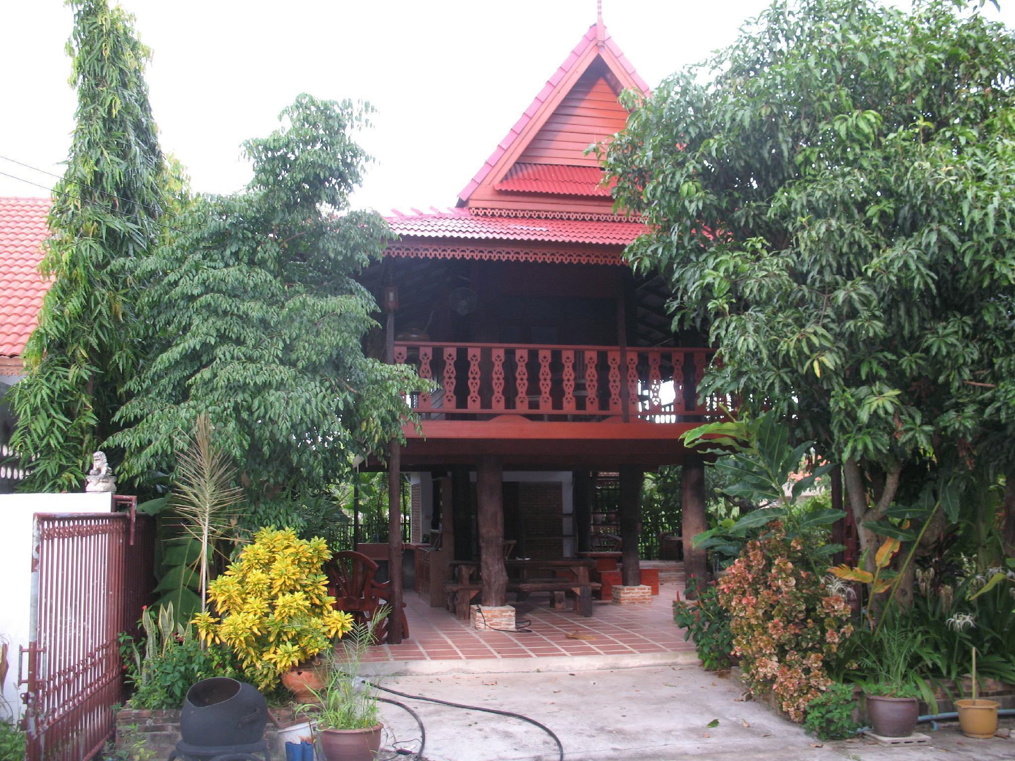 teak house chiang mai บ้านเดี่ยว 2 ห้องนอน 2 ห้องน้ำส่วนตัว ขนาด 900 ตร.ม. – หางดง