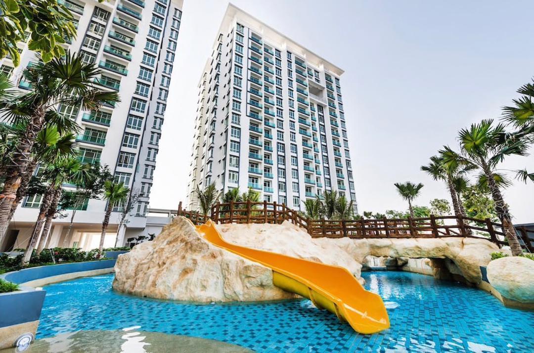 WaterPark Cozy Stylish Home 6pax@BM Bandar Perda
