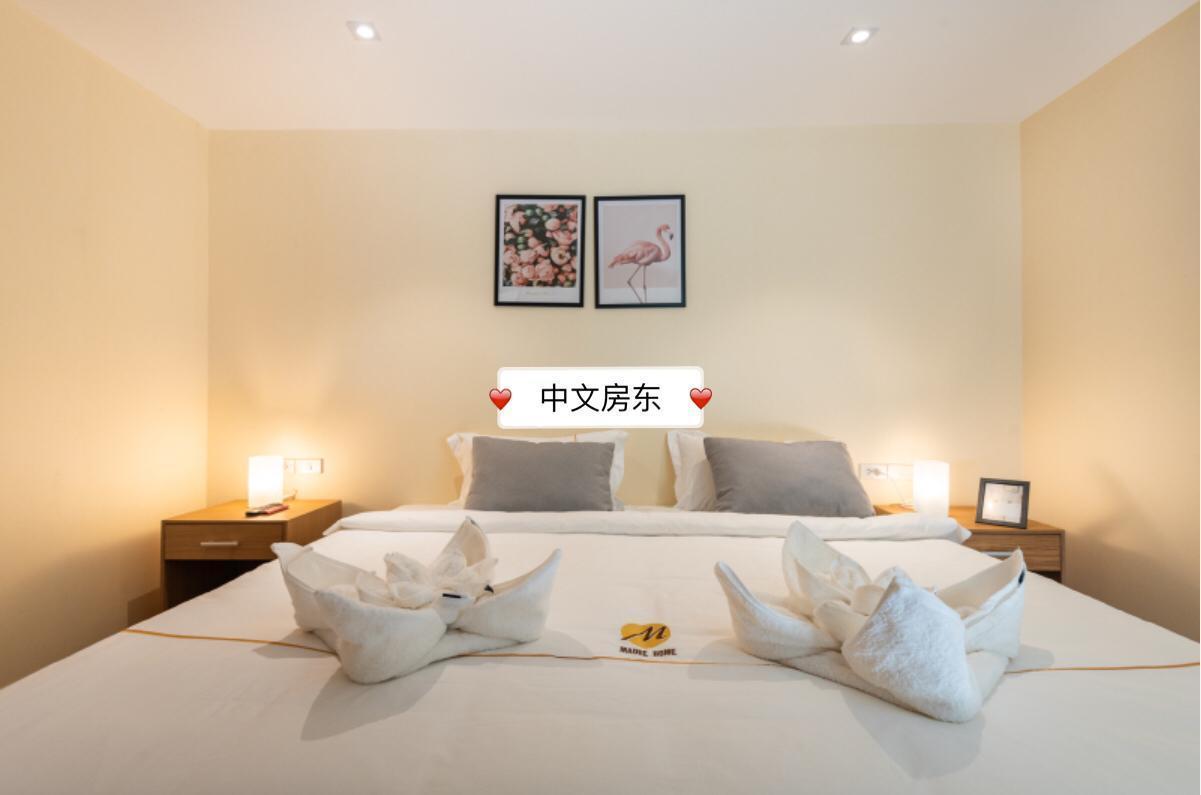 BTS On nut Double queen bed room สตูดิโอ อพาร์ตเมนต์ 2 ห้องน้ำส่วนตัว ขนาด 30 ตร.ม. – สุขุมวิท