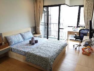[ラチャダーピセーク]スタジオ アパートメント(40 m2)/1バスルーム StaycationBKK Huai Khwang!!  Good location!!