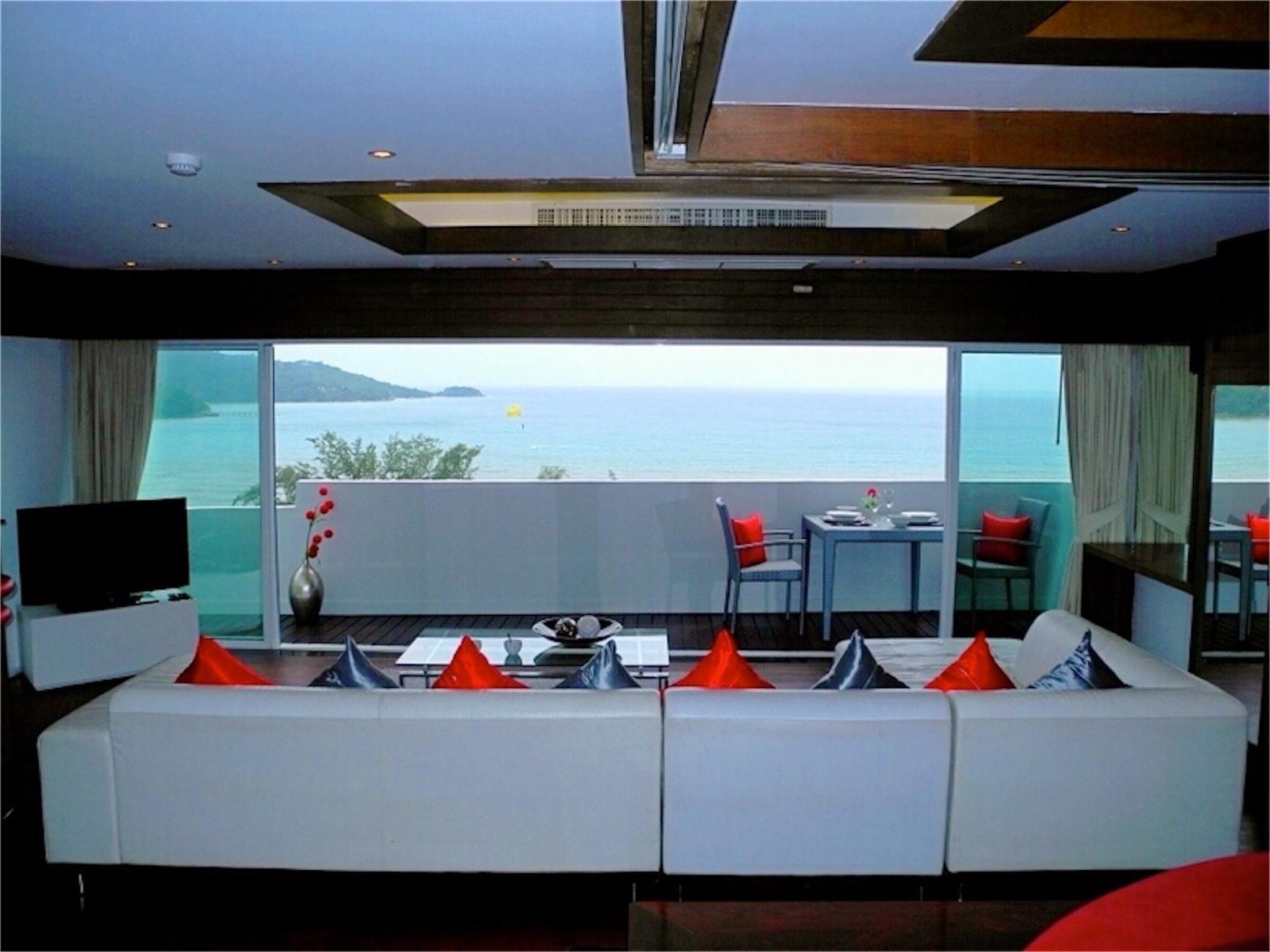 Sea View Apartment And Ideal Location Of Patong