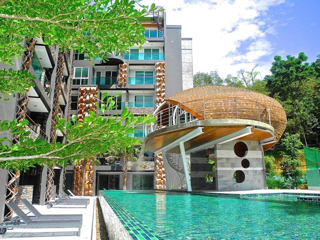 New garden view studio in Patong สตูดิโอ อพาร์ตเมนต์ 1 ห้องน้ำส่วนตัว ขนาด 38 ตร.ม. – ป่าตอง