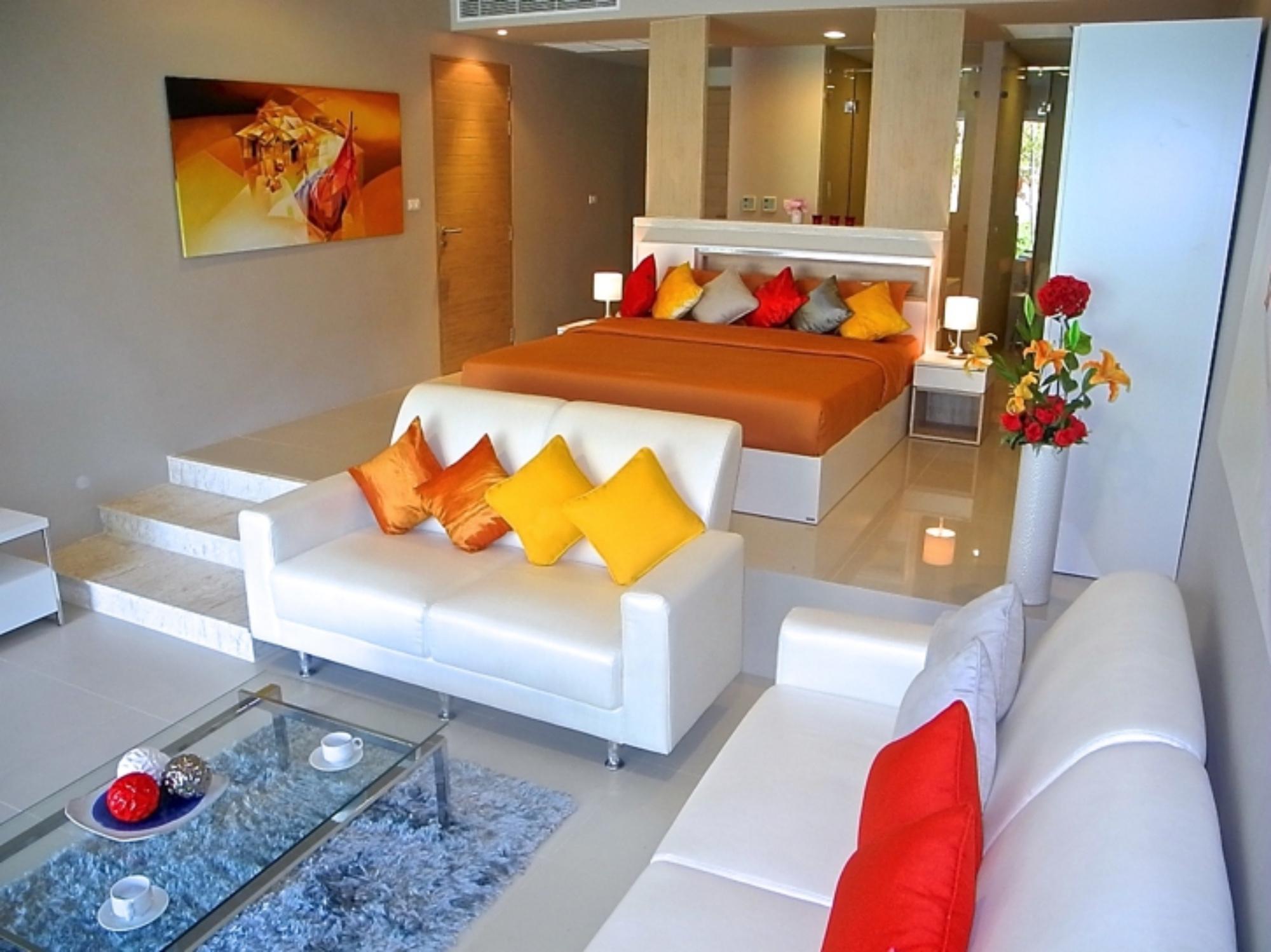 Pool access apartment in Karon อพาร์ตเมนต์ 1 ห้องนอน 1 ห้องน้ำส่วนตัว ขนาด 70 ตร.ม. – กะรน