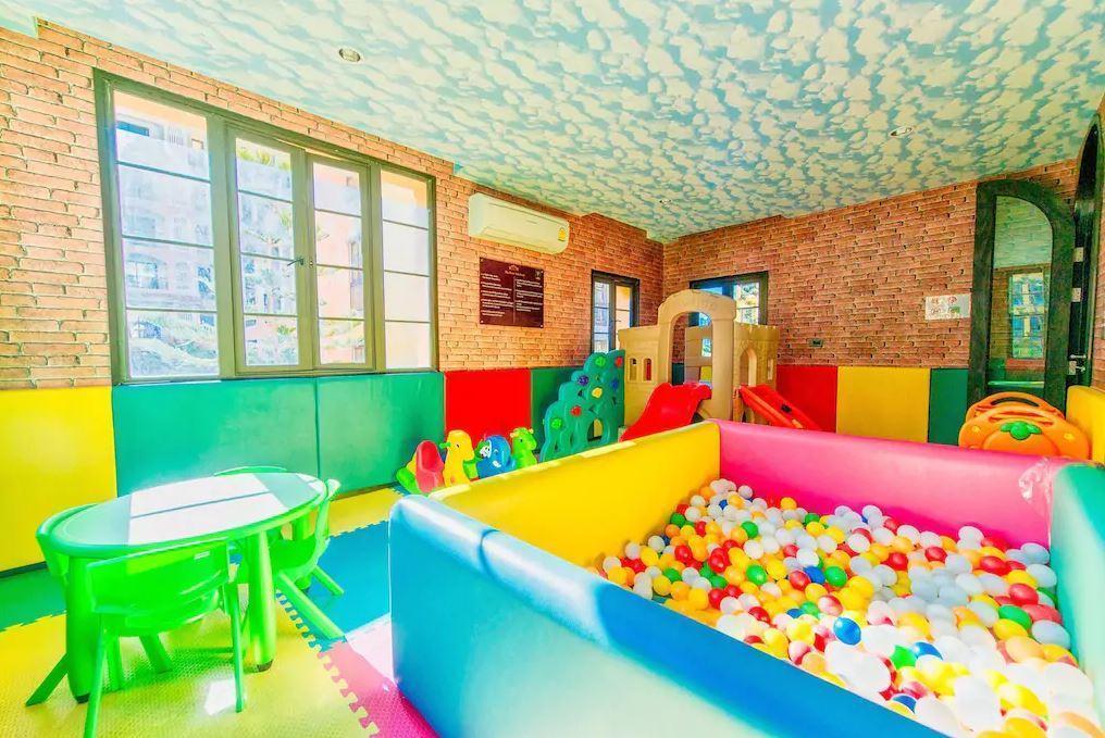 FAMILY room, Kids Playroom, Hotel Facilities,Beach สตูดิโอ อพาร์ตเมนต์ 1 ห้องน้ำส่วนตัว ขนาด 28 ตร.ม. – นาจอมเทียน