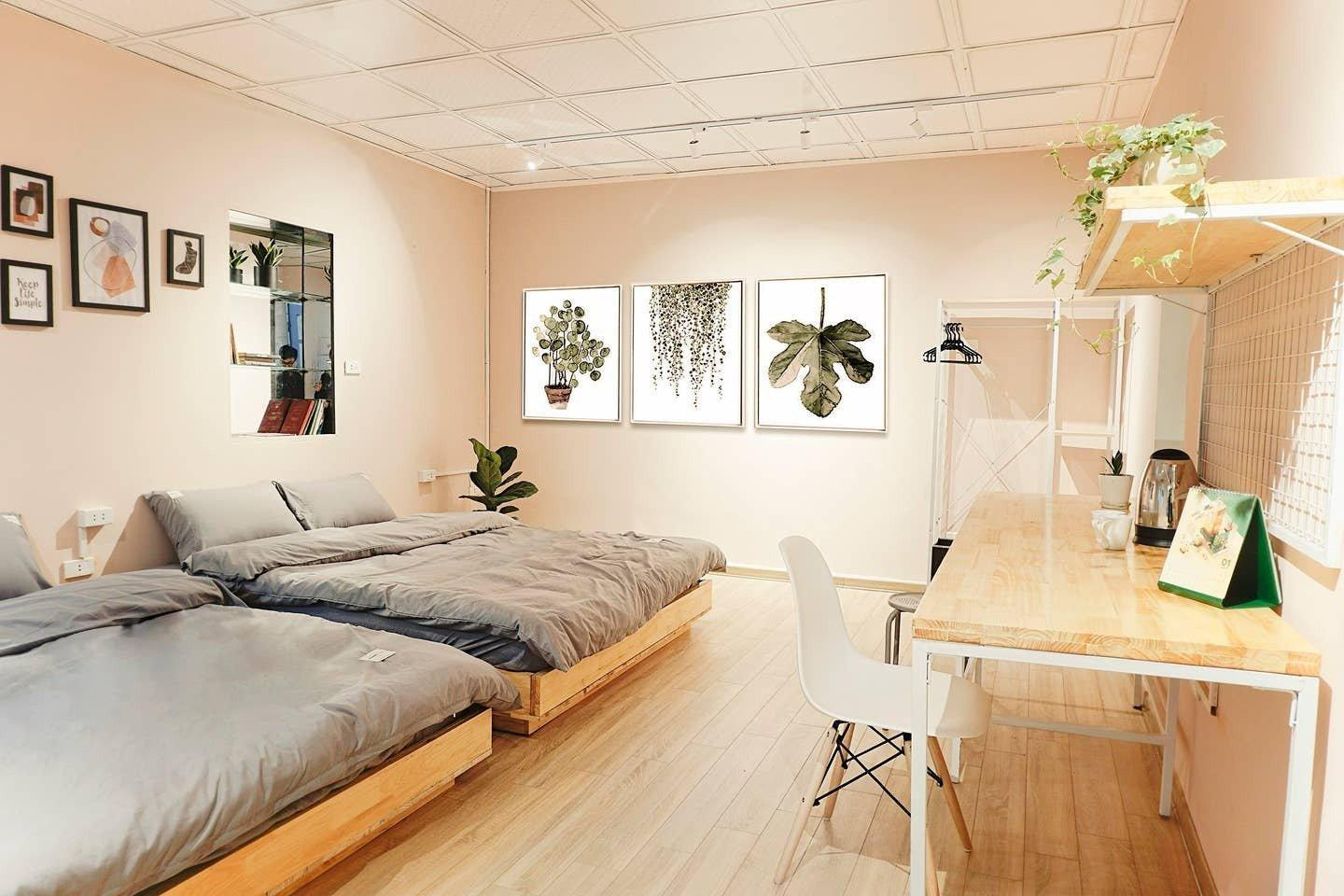 The Alley House  4  Old Quater Hanoi  1 BR 2 BEDS.