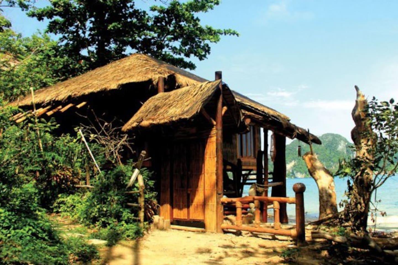 Incredible House on the beach 260 Degree Sea View สตูดิโอ บังกะโล 1 ห้องน้ำส่วนตัว ขนาด 35 ตร.ม. – อ่าวต้นไทร