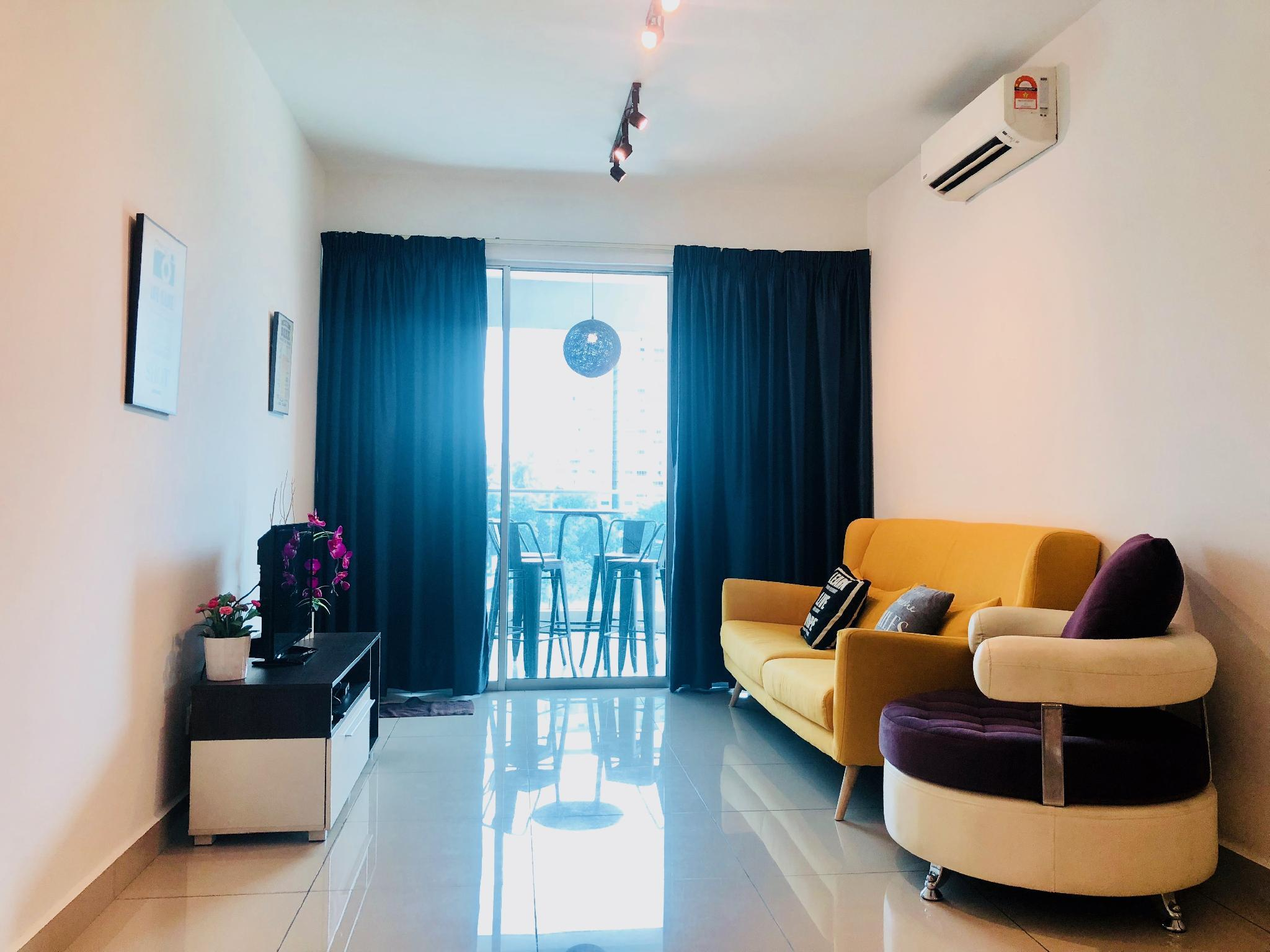 YoLodge Bukit Jalil Kiara Residences 2 Stay 4+2pax