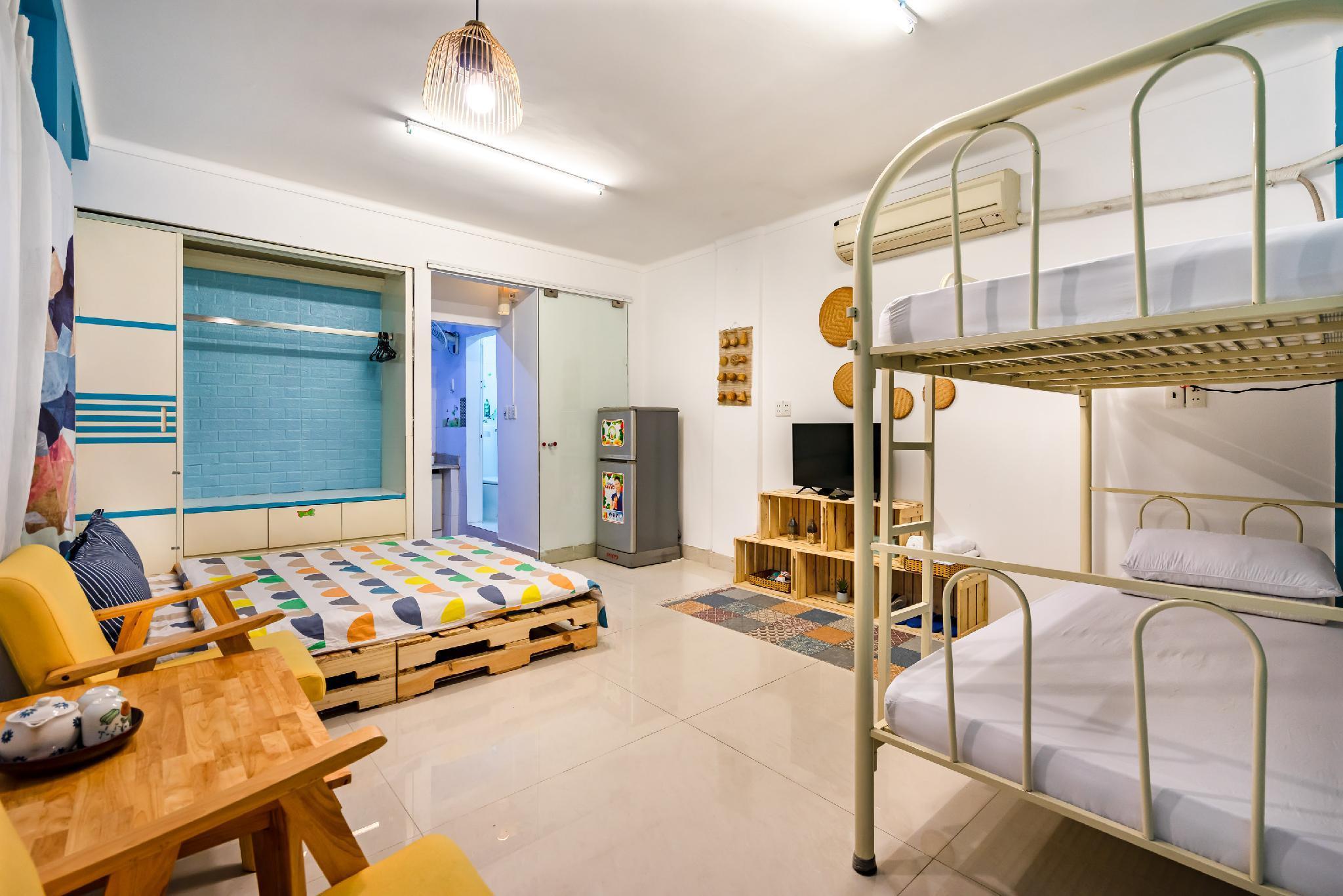 Apartment Max4people CentralDist1 BenThanh Market