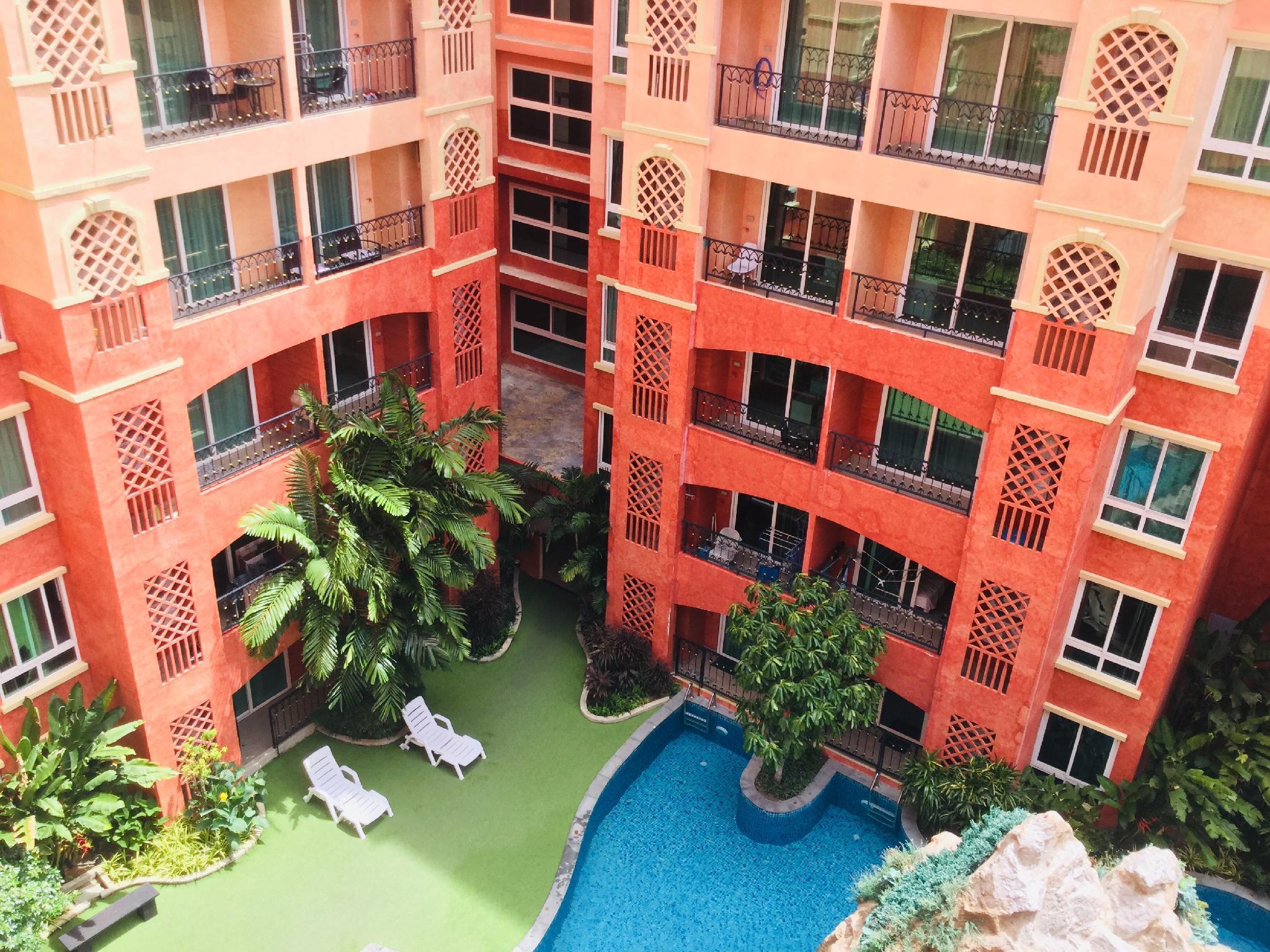 Seven Seas Condo Resort Jomtien by ABG อพาร์ตเมนต์ 1 ห้องนอน 1 ห้องน้ำส่วนตัว ขนาด 36 ตร.ม. – หาดจอมเทียน