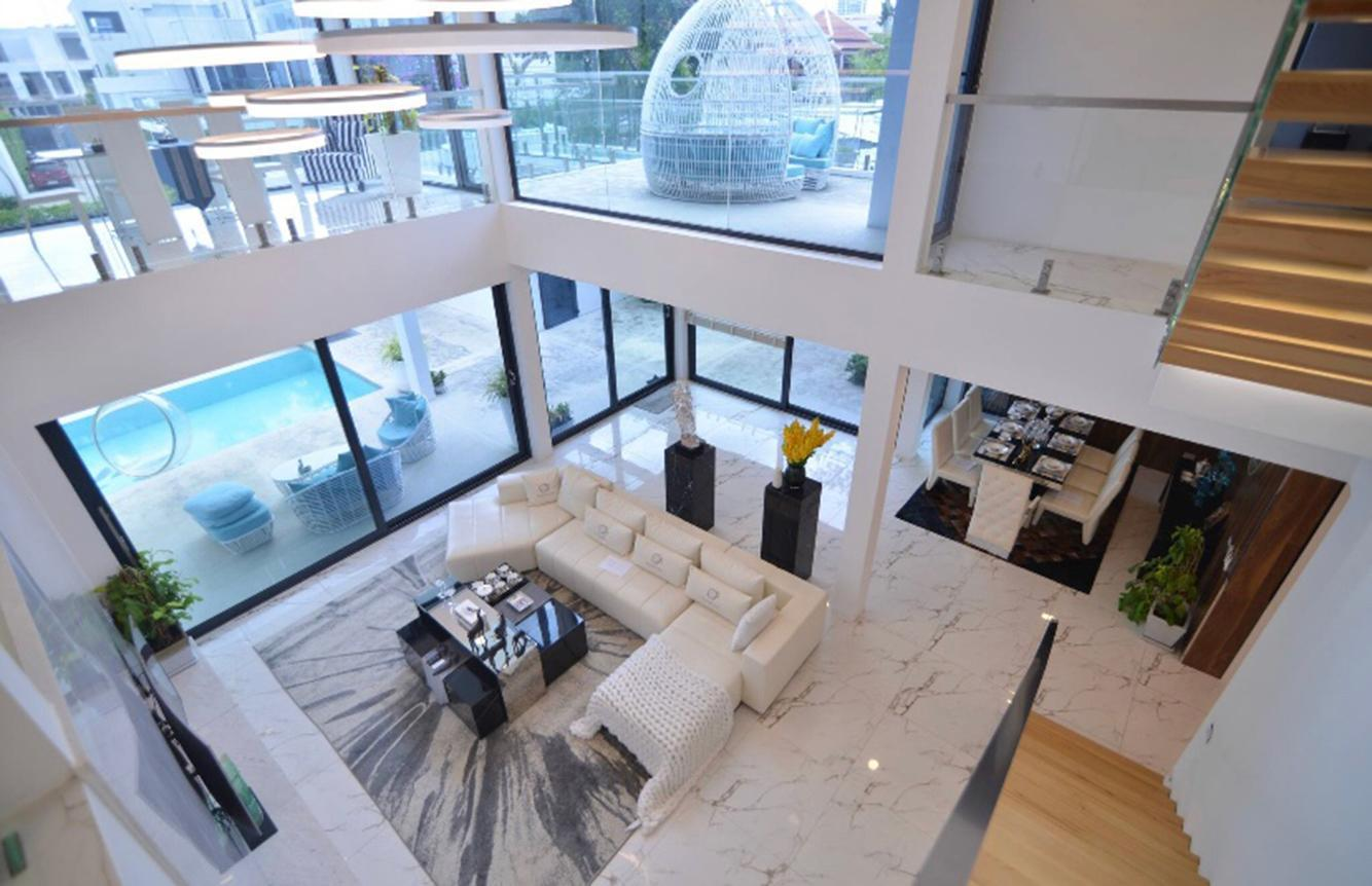 Mocy 5 star modern villa 5 ห้องนอน 5 ห้องน้ำส่วนตัว ขนาด 600 ตร.ม. – เขาพระตำหนัก