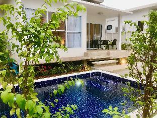 [バンポル]ヴィラ(130m2)| 2ベッドルーム/1バスルーム 2 Bedroom Luxury Pool Villa Orchid walk to beach