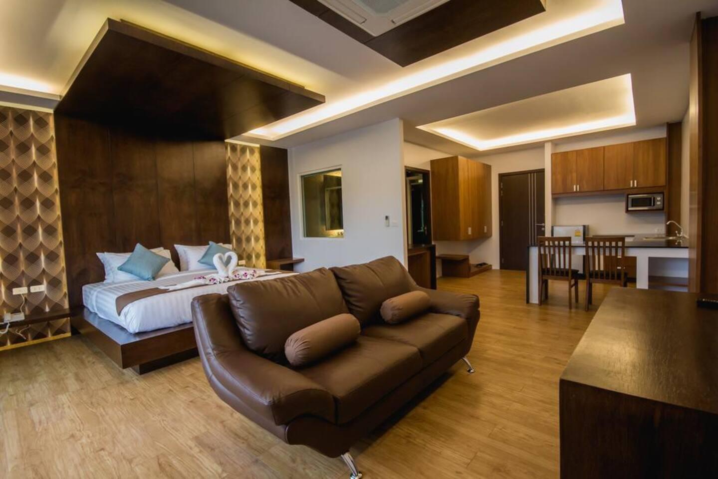 Luxury Room (3rd Floor) สตูดิโอ วิลลา 1 ห้องน้ำส่วนตัว ขนาด 40 ตร.ม. – อ่าวโละดาลัม