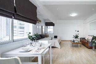 [スクンビット]スタジオ アパートメント(39 m2)/1バスルーム 96 | Scandinavian design studio 2 mins to NANA BTS