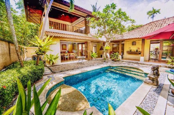 Balinese Countryside Villa 3BR Sleeps 8 w/Pool Pattaya