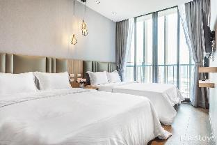 1 BR Dreamy & Brightening  can stay 4 PAX near BTS อพาร์ตเมนต์ 1 ห้องนอน 1 ห้องน้ำส่วนตัว ขนาด 32 ตร.ม. – สุขุมวิท