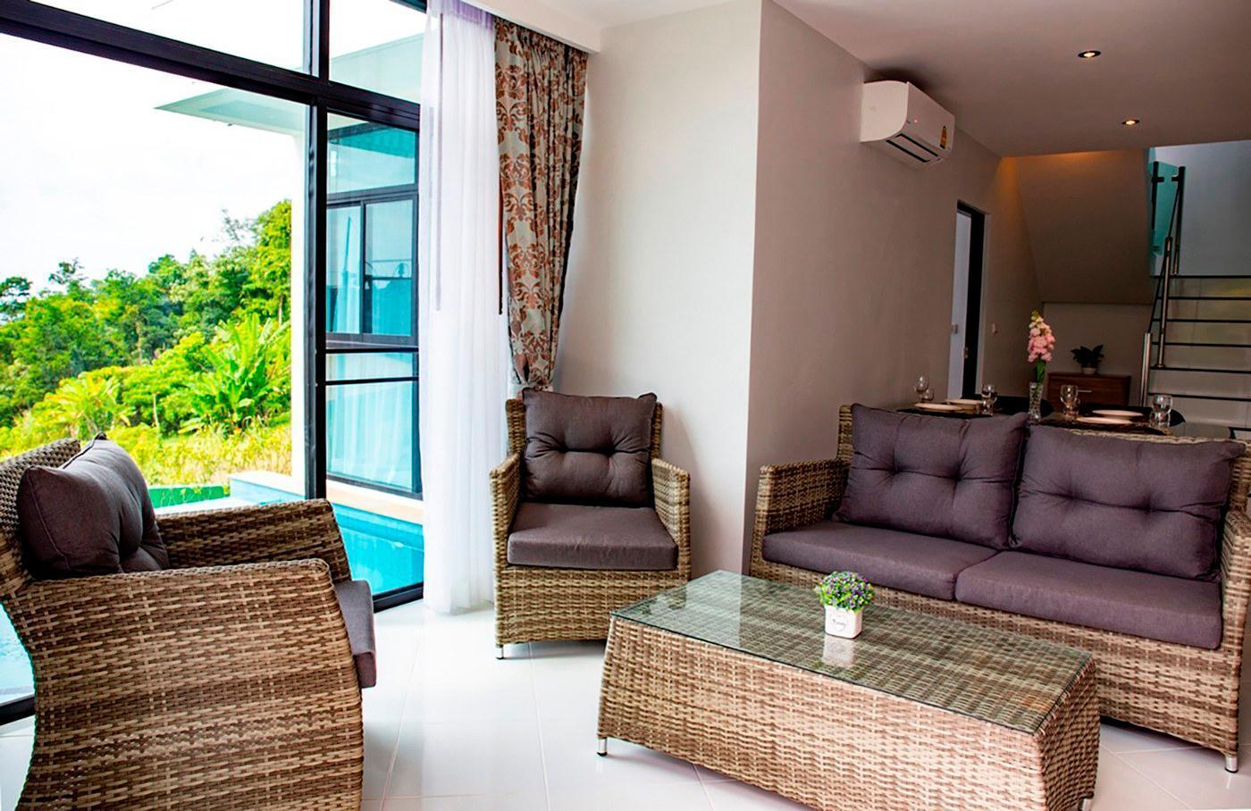 Private 360 Degree Sea View Luxury Villa วิลลา 2 ห้องนอน 2 ห้องน้ำส่วนตัว ขนาด 162 ตร.ม. – กมลา