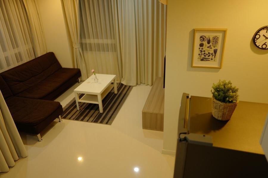 Family Suite  element Srinakarin อพาร์ตเมนต์ 2 ห้องนอน 2 ห้องน้ำส่วนตัว ขนาด 62 ตร.ม. – บางนา
