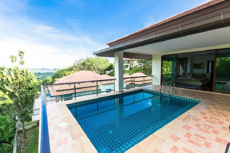 Luxury Villa Panorama Sea View Chalong Bay อพาร์ตเมนต์ 5 ห้องนอน 5 ห้องน้ำส่วนตัว ขนาด 448 ตร.ม. – ฉลอง
