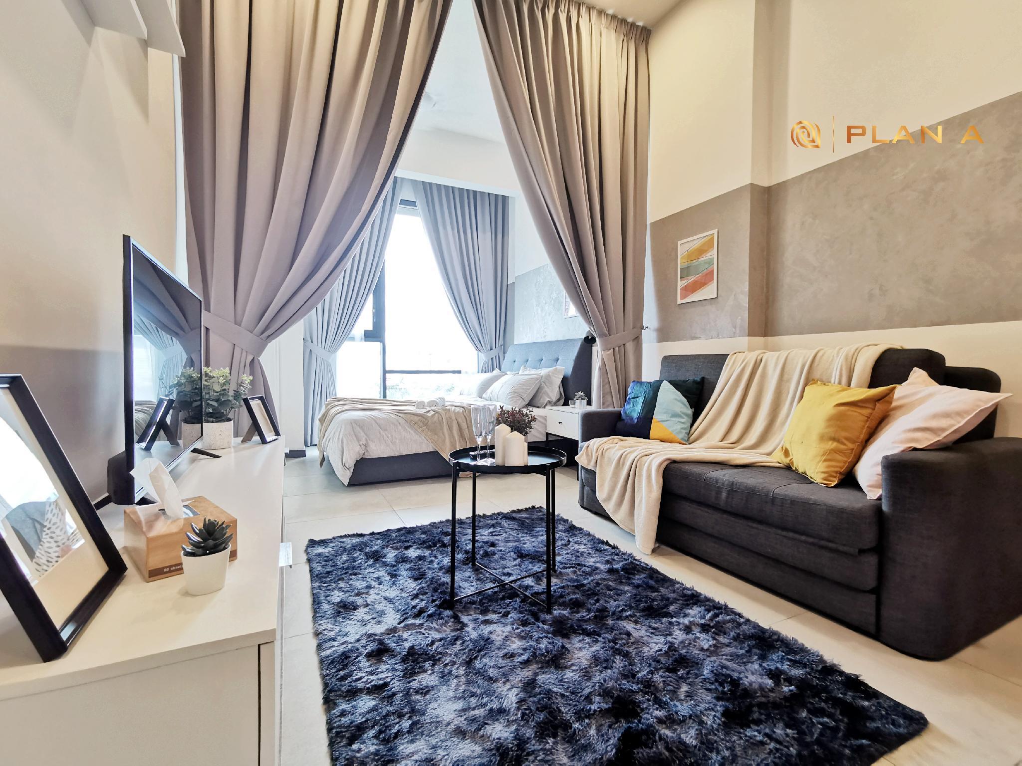 Paris Style Stay Near KLCC And Bukit Bintang+ Wi Fi