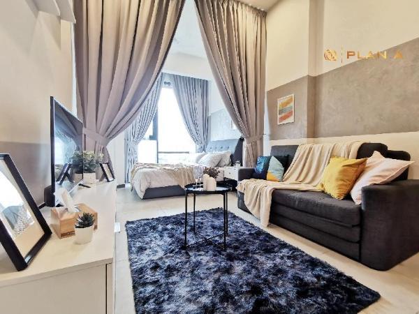 Paris-Style Stay near KLCC & Bukit Bintang+ Wi-Fi Kuala Lumpur