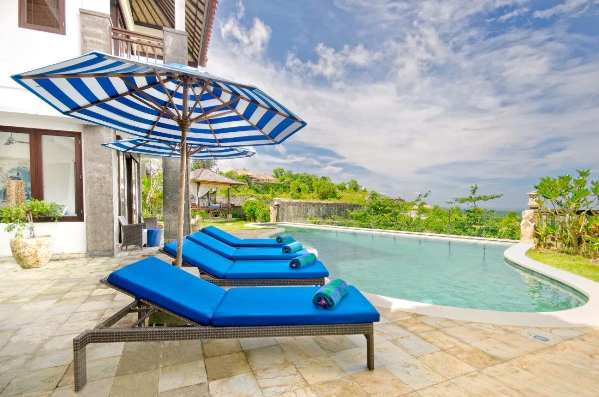 Villa Bali Blue Luxury Villa For Rent In Jimbaran