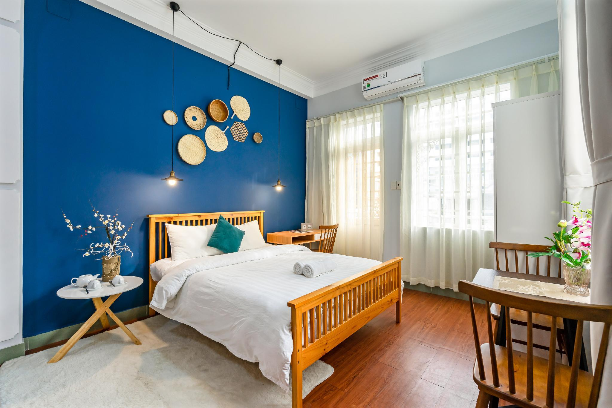 Dome Maison 301Centrally Blue Studio Near Bui Vien