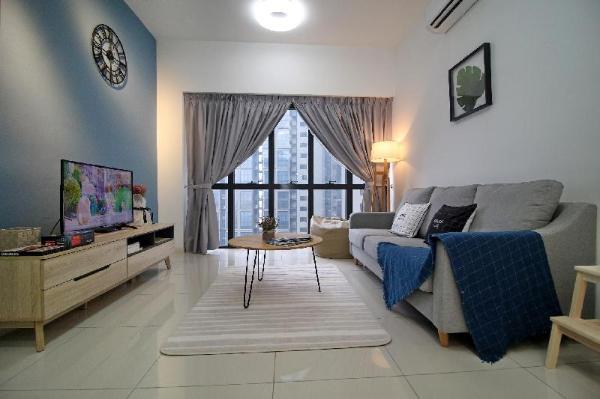 New Family Suite Freewifi @Icon City Petaling Jaya Kuala Lumpur
