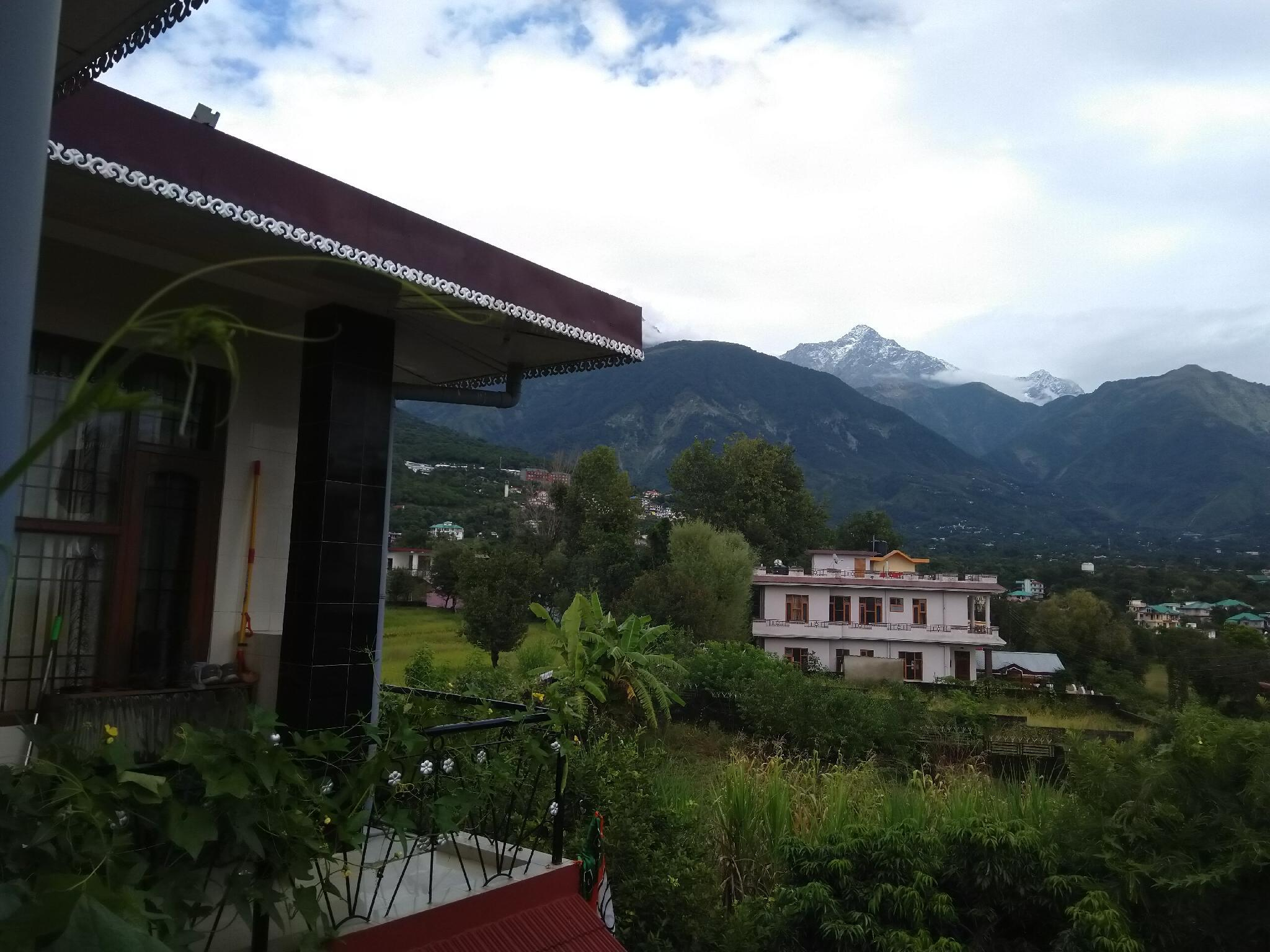 In The Lap Of Dhauladhar Mountains.