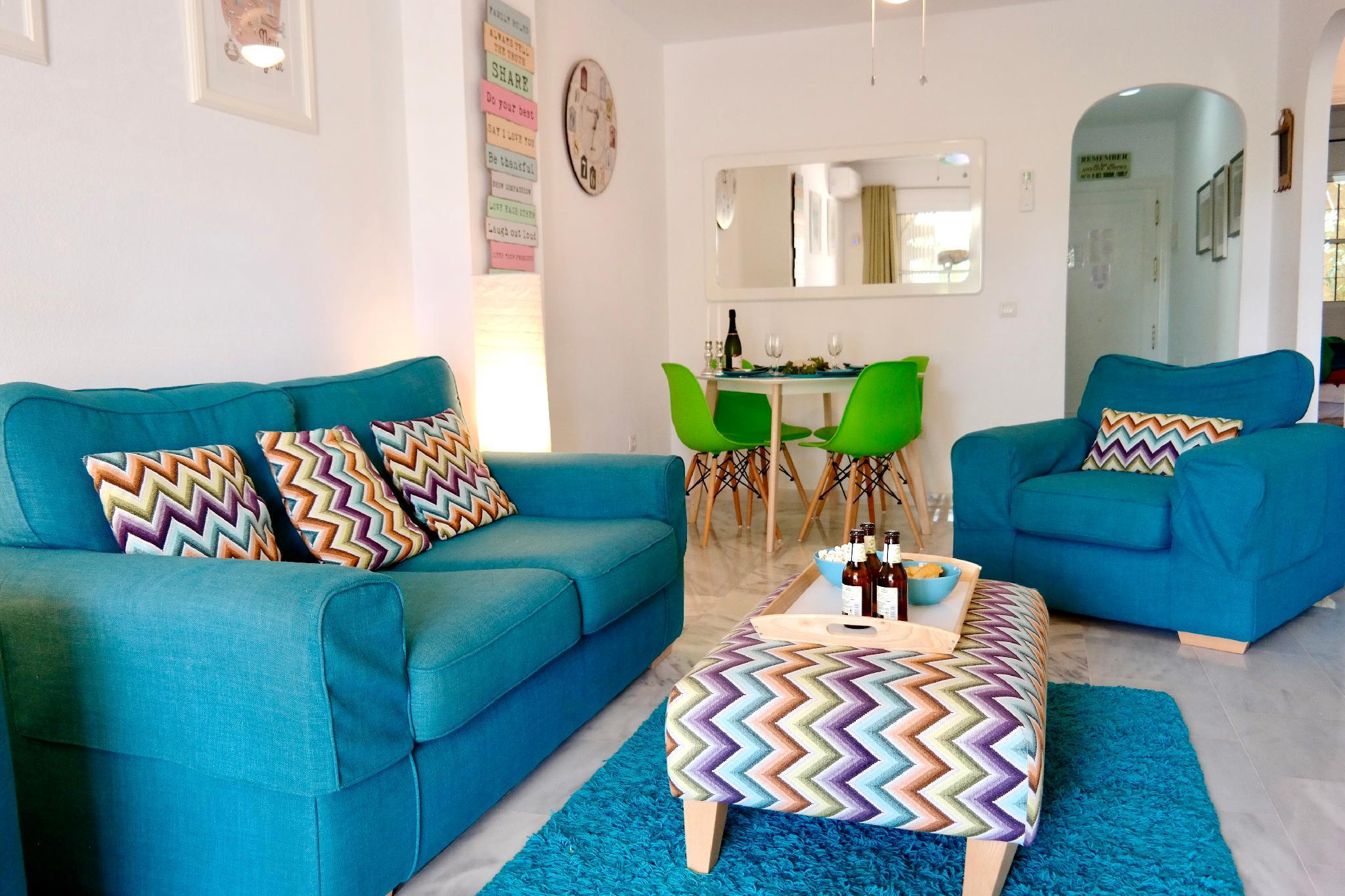 EL FARO VACATIONAL HOME WITH POOL IN MIJAS COSTA